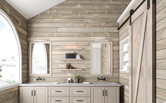 "ShipLap in Sand Dune, Shiplap (with 1/8"" self-spacing nickel-gap)"