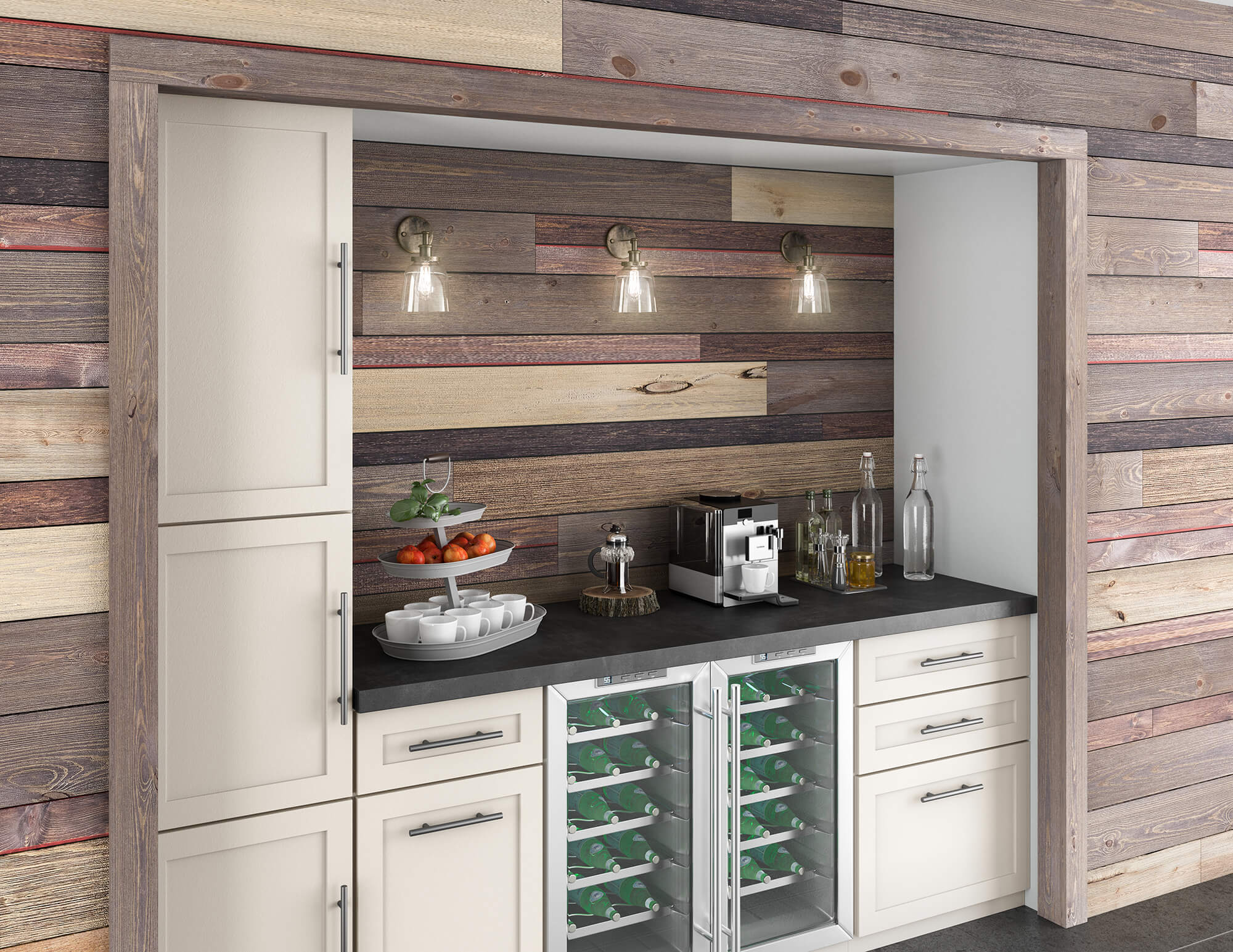 Easy BarnWood™ Collection Great American Spaces