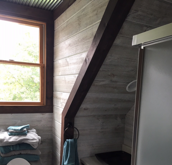 Man Cave Bathroom Easy BarnWood Traditional White