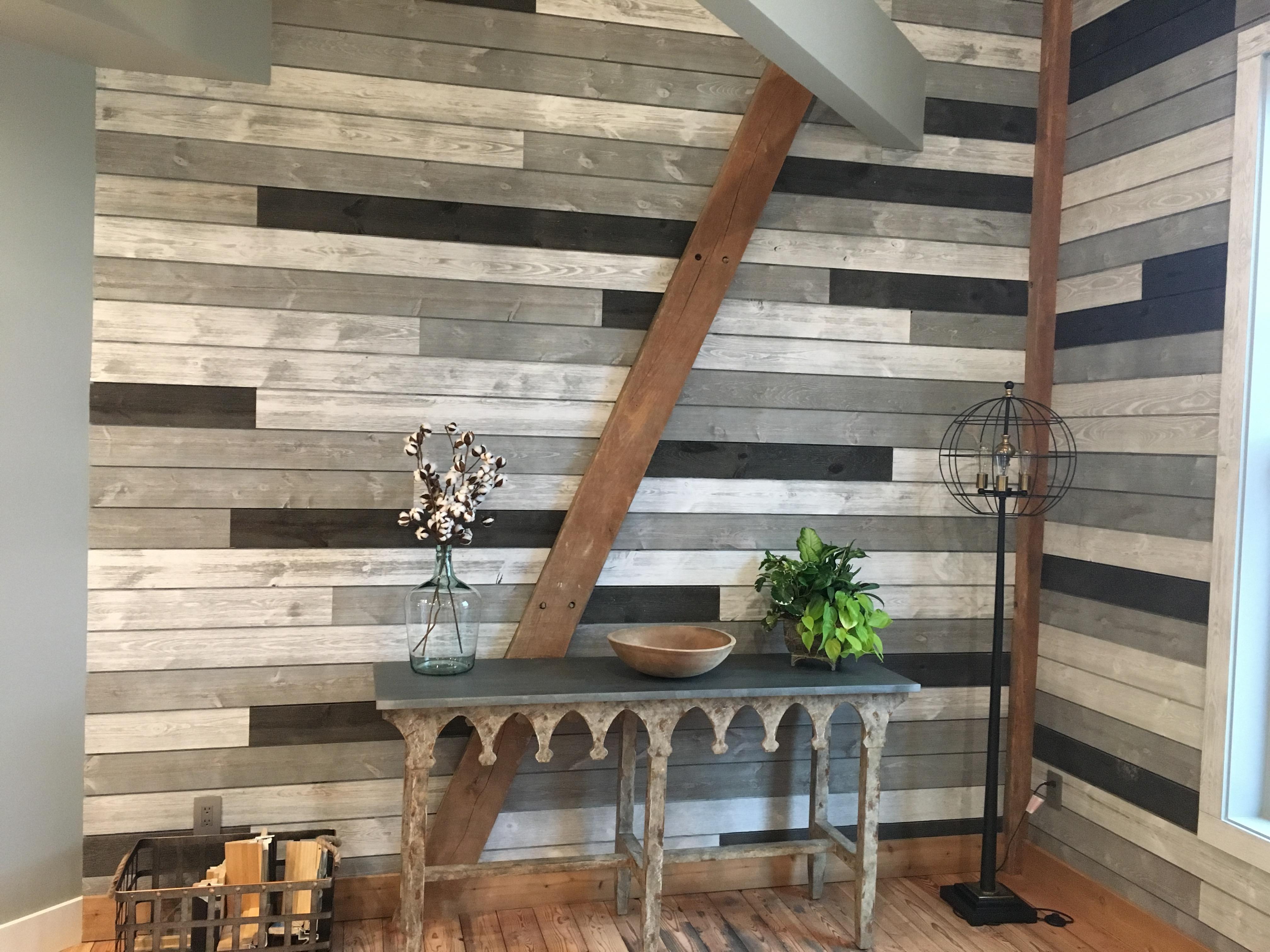 Barnwood Shiplap Bathroom